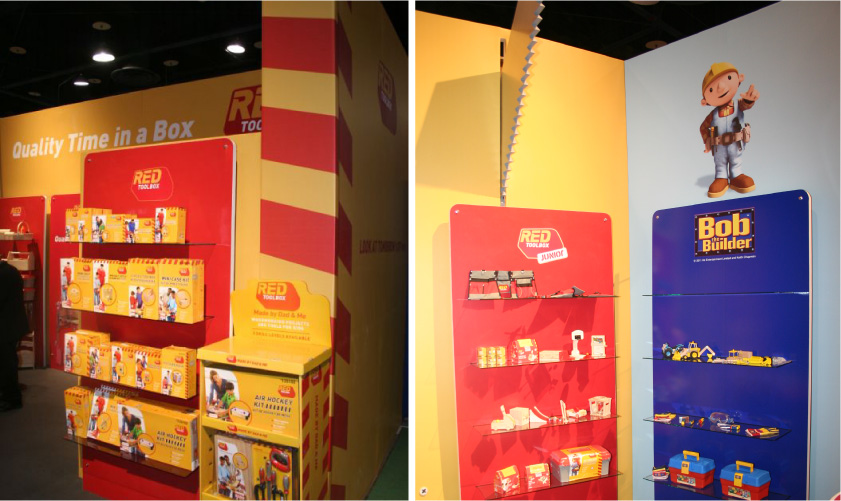 Red Tool Box Booth